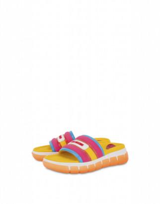 Love Moschino Mesh Sandals Tassel Love