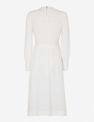 AllSaints Fayre crepe midi dress