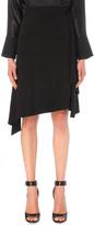 Givenchy Ruffled crepe midi skirt