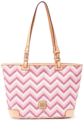 Dooney & Bourke Chevron Small Leisure Shopper