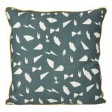 ferm LIVING Mini Cotton Printed Cushion 50x50 cm