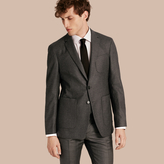 Burberry Modern Fit Tailored Wool Jacket