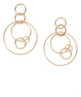 Women's Halogen Multi Hoop Drop Earrings