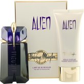 Thierry Mugler Alien for Women-2 Pc Gift Set 2-Ounce EDP Spray, 3.4-Ounce Radiant Body Lotion