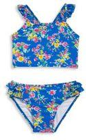 Ralph Lauren Girl's Two-Piece Floral Tankini