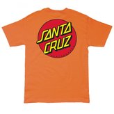 Santa Cruz Mens Classic Dot Regular Short-Sleeve Shirt