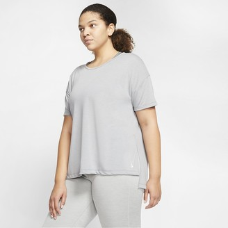 Nike Women's Short-Sleeve Top (Plus Size Yoga