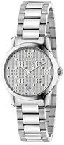 Gucci Women's Swiss Quartz Stainless Steel Dress Watch, Color:Silver-Toned (Model: YA126551)