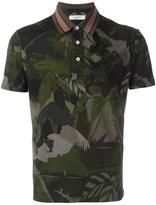 Valentino tropical print polo shirt - men - Cotton/Polyester/Viscose - M