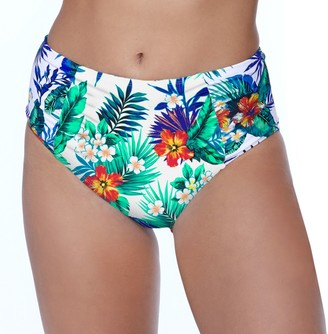 So Mix And Match High Waisted Bottom with Princess Seam Shirring