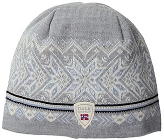 Dale of Norway Hovden Hat (T-Grey/Ice Blue/Off-White/Navy) Caps