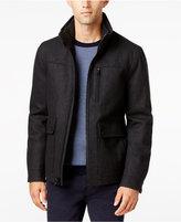 Nautica Men's Wool-Blend Bomber Jacket