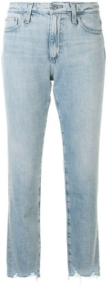 AG Jeans Isabelle high-waist cropped jeans