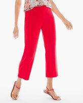 Chico's No Tummy Slim Crop Pants