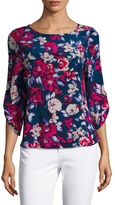 Yumi Kim Turn Around Silk Printed Top
