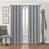 Eclipse Curtains Eclipse Nadya Grommet Blackout Window Curtain Panel, 95-Inch, Smokey Blue