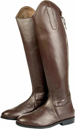 HKM Riding Boots Italy Soft Leather Long/Narrow Width Men Reitstiefel -Italy- Soft Leder Lang/schmale Weite