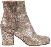 Maison Margiela Silver Leather Heels