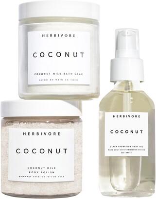 Herbivore Botanicals Coconut Love Body Ritual Kit