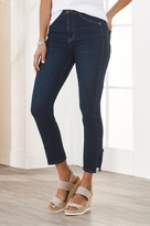 Women The Ultimate High Rise Lace Hem Jeans