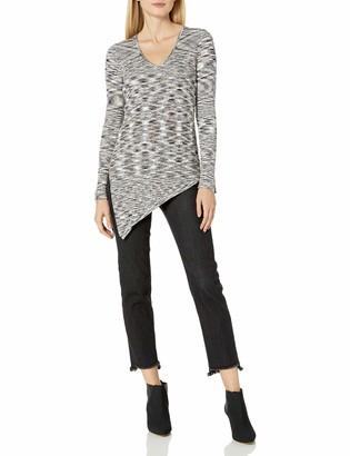 525 America Women's Space Dye V Tie Side Sweater