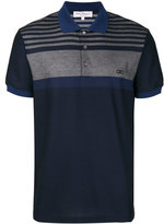 Salvatore Ferragamo button front polo shirt