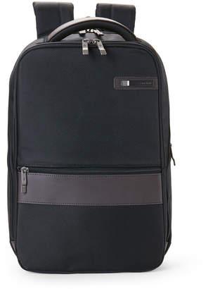 Samsonite Black & Brown Kombi Small Laptop Backpack