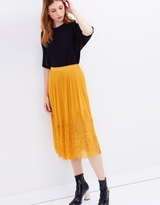 Whistles Lilian Pleated Skirt