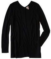 Aeropostale Womens Cape Juby Ribbed Open-Front Cardigan