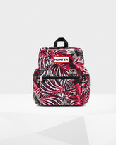Hunter Top Clip Printed Backpack - Nylon