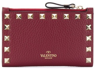 Valentino Rockstud zip coin purse