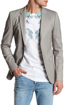 Topman Single Button Notch Lapel Skinny Fit Sport Coat