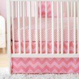 Pink Sugar New Arrivals Zig Zag Baby 3-Piece Crib Bedding Set
