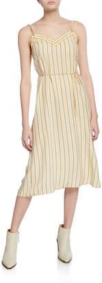 Rag & Bone Ilona Striped Midi Dress