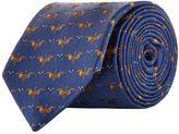 Harrods Of London Jacquard Bird Tie