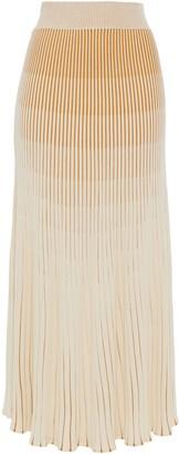 Nicholas Degrade Stretch-knit Maxi Skirt