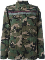 Valentino camouflage jacket - women - Cotton - 42