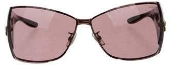 Chopard Logo Rectangle Sunglasses
