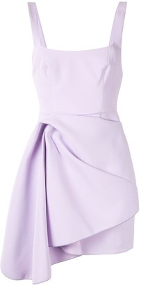 Acler Draped Asymmetric Dress