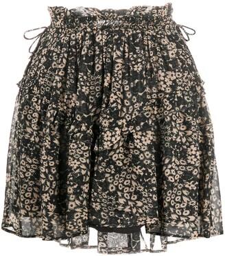 Etoile Isabel Marant Floral Print Mini Skirt