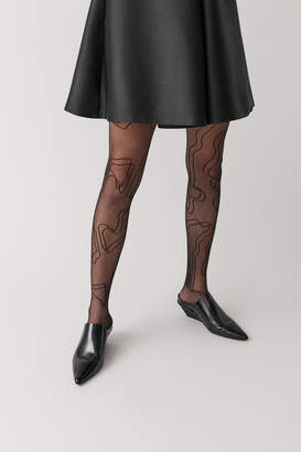 Cos SHEER PATTERNED TIGHTS