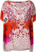 Roberto Cavalli Garden of Eden print T-shirt