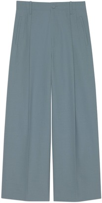 Gucci Wool blend wide-leg pant