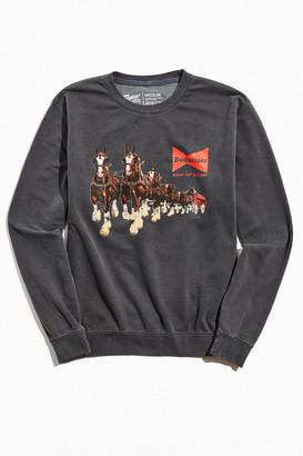 Urban Outfitters Budweiser Horses Crew Neck Sweatshirt