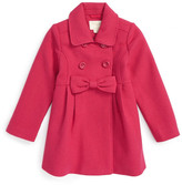 Kate Spade fit & flare coat (Toddler & Little Girls)
