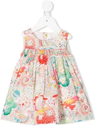 Bonpoint Multi-Print Sleeveless Dress