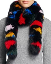 Loeffler Randall Fox Fur Stole Scarf