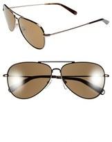 Bobbi Brown Women's 'The Dakota' 59Mm Aviator Sunglasses - Black