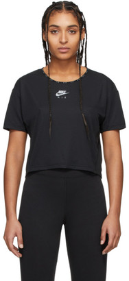 Nike Black Air Crop T-Shirt
