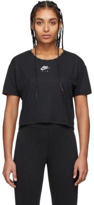Nike Black Air Crop T-Shirt